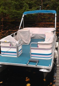1998 Aurora Pontoon Boat for Sale