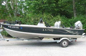 16' Lund Fishing Boat