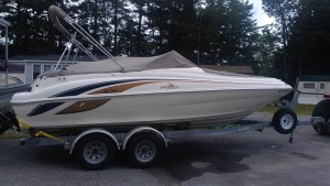1998 21' SeaRay Sundeck  for sale